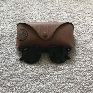 Other - Clubmasters All Black Sunglasses